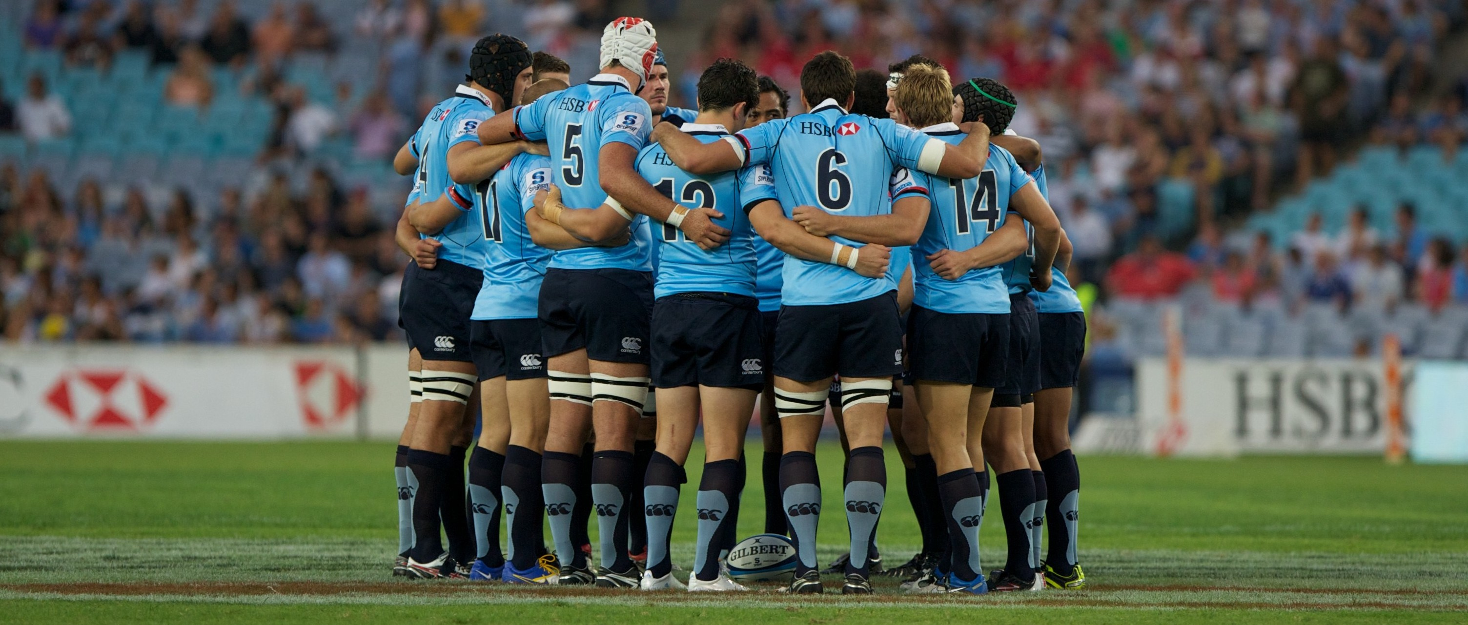 Waratahs huddle box