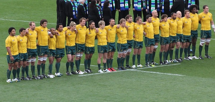 wallaby lineup Anthem