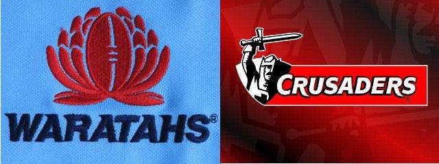 Waratahs V Crusaders Match Banner