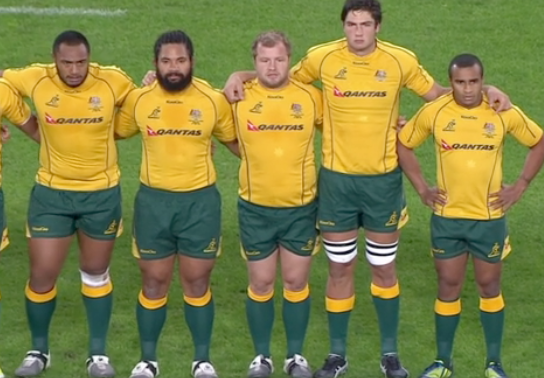 Wallabies anthem