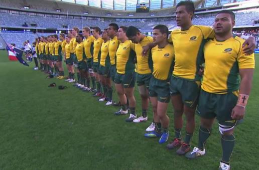 australia U20 RWC team 2012