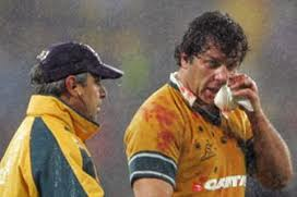 Trying to clean up the Wallabies bloody mess