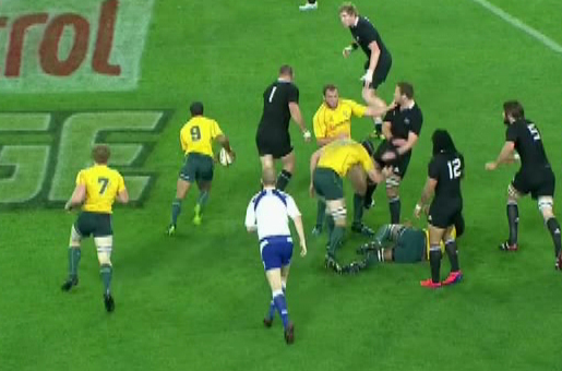 Attacking The All Blacks