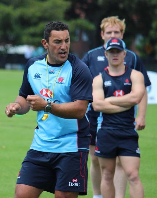 Tahs Coach Daryl Gibson