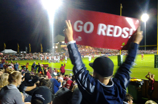 Reds v Blues Slide