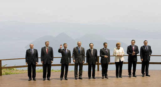 It seems like only yesterday that the 34th G8 Summit was held in Tōyako, Japan. Crazy days.
