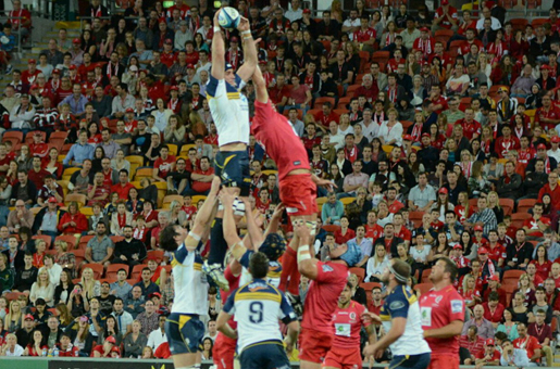 Reds Brumbies Lineout Slide