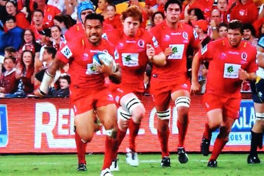 Reds v Brumbies 2013