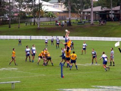 Contested lineout