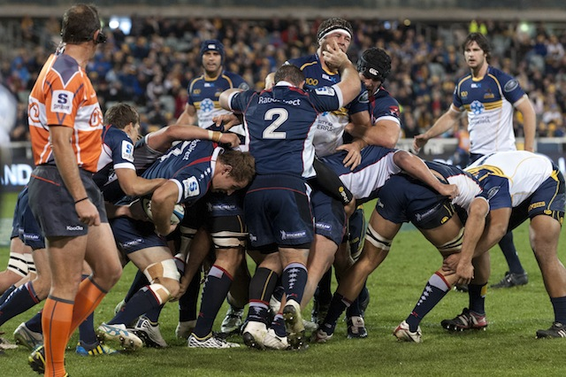 maul  brumbies vs rebels