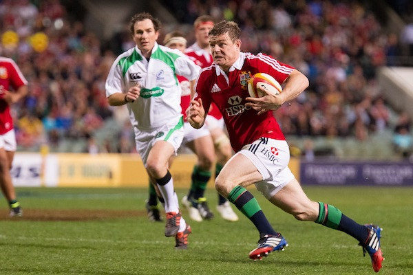 ODriscoll BOD and Jackson  in Lions vs Force 2013