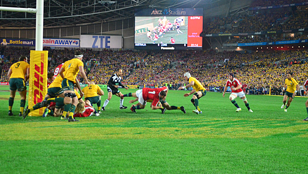 Lions Try