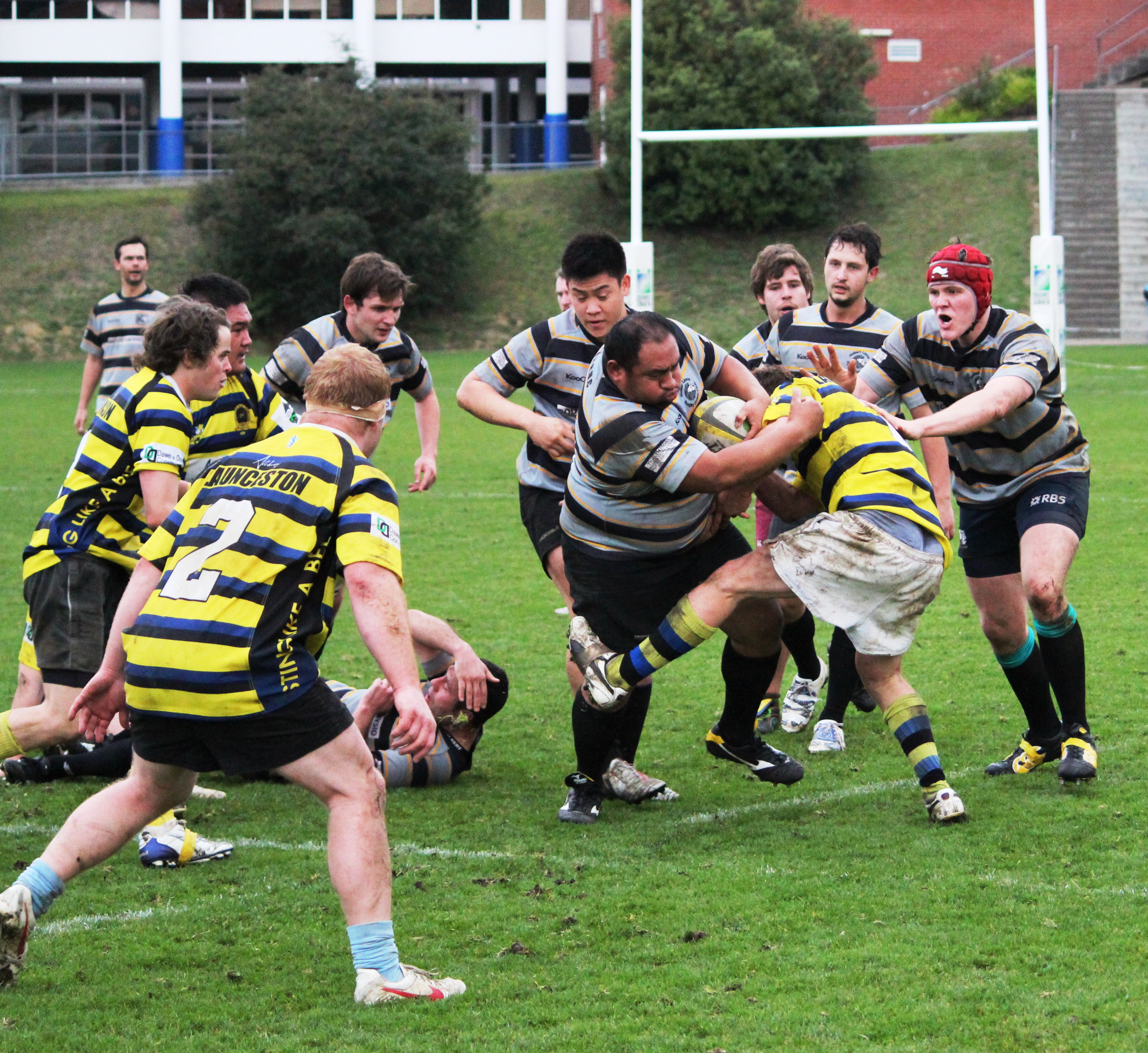 Green And Gold Rugby Gps 2018: Tassie Rugby Round 13