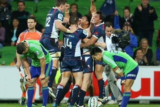 Rebels v Highlanders 2013