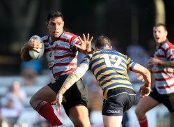 The Shute Shield table expressed though interpretive dance.