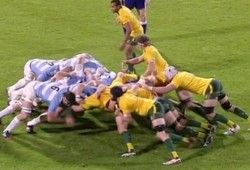 wallabies scrum vs argentina 2013