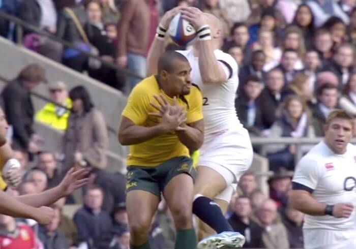 genia and brown england wallabies