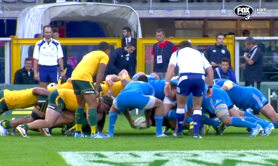 scrum vs italy 2013