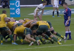 wallabies scrum and clancy vs england