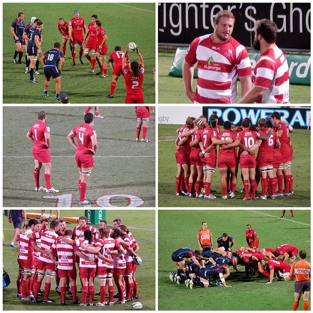 Green And Gold Rugby Gps 2018: So, We All Know The Score.......... Reds V. Rebels Trial
