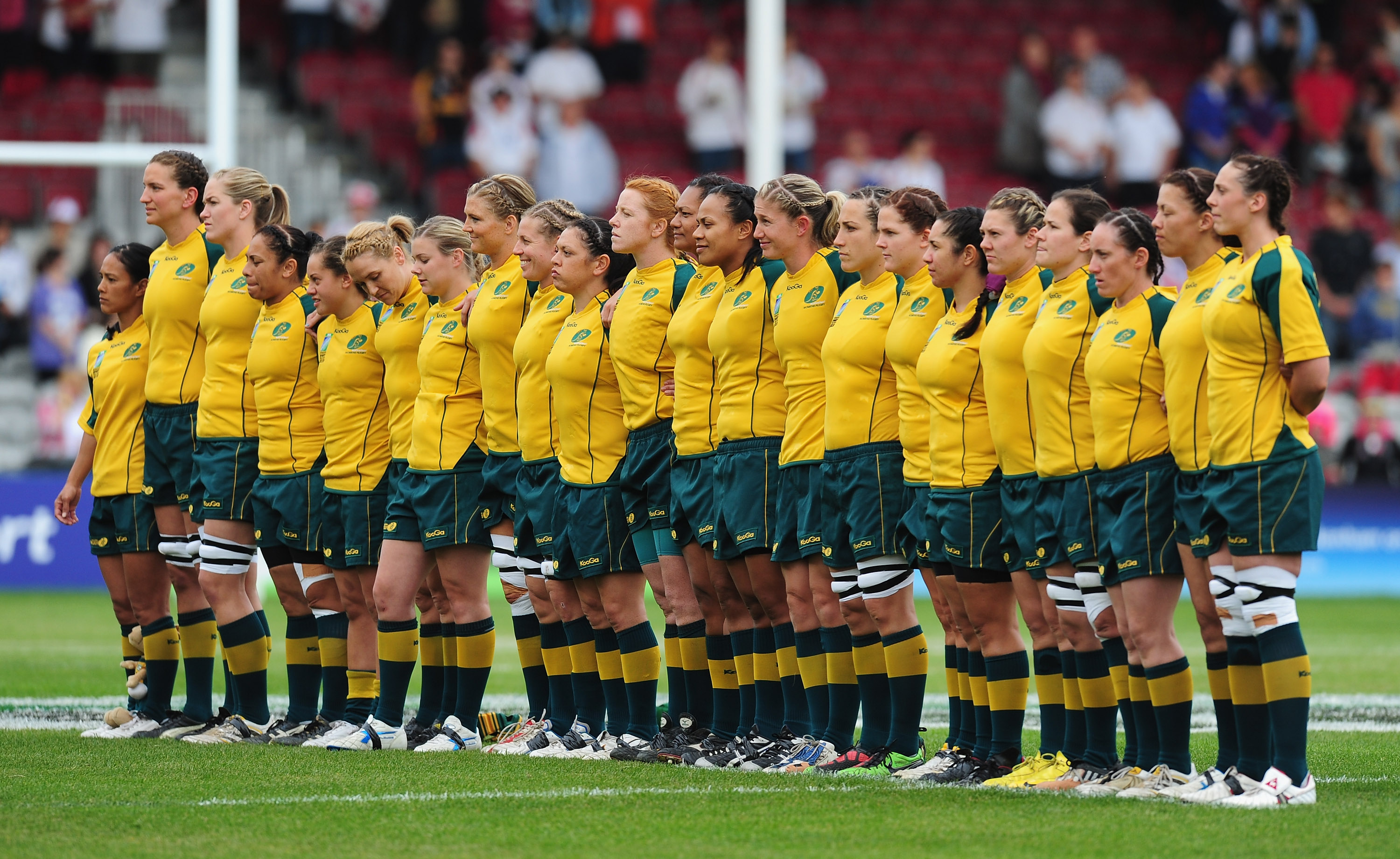 France v Australia - IRB Womens Rugby World Cup 3rd Place Play-Off