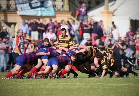 Brighton Vs Old Colls in last year's Grand Final