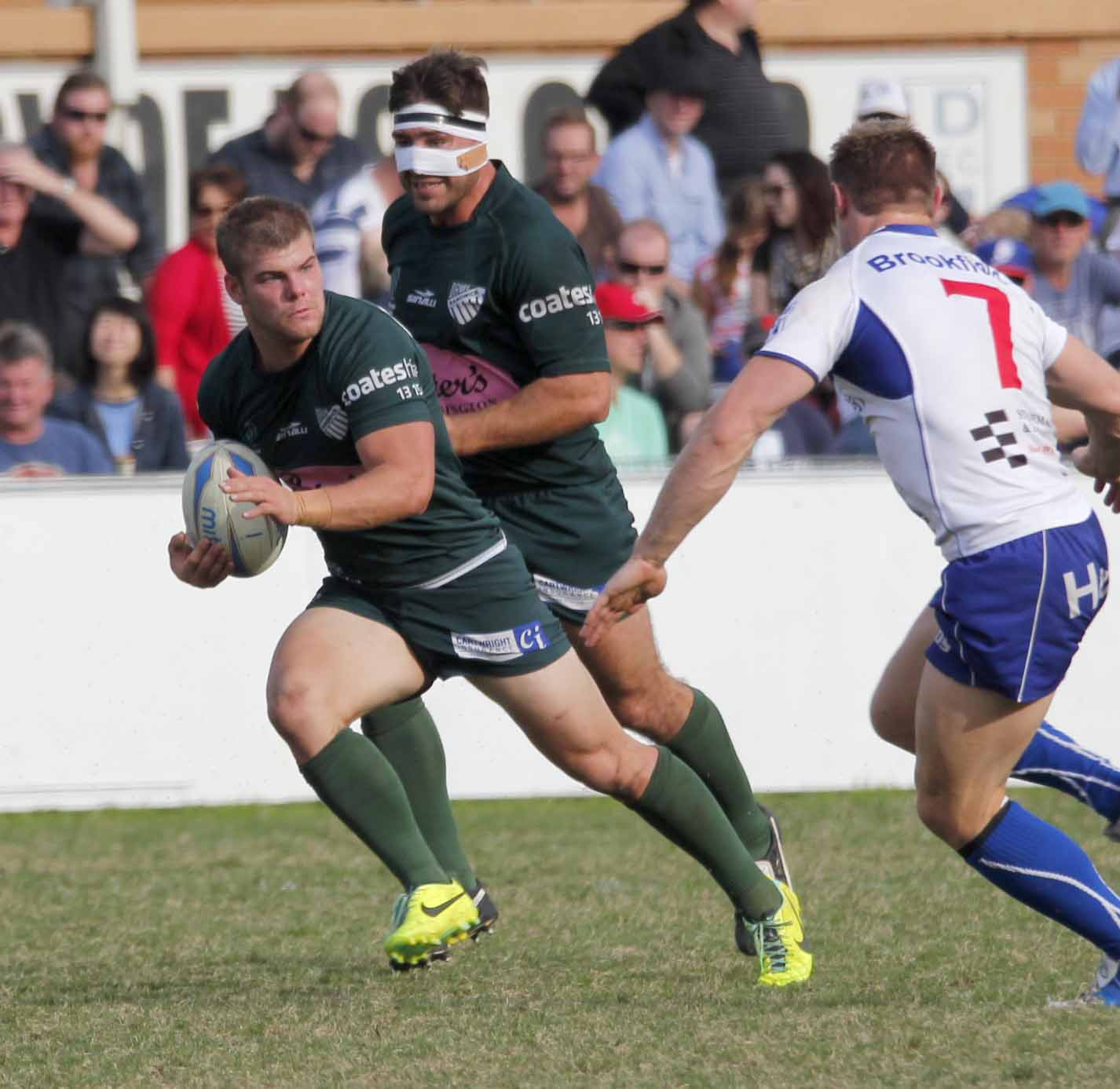 EFord and mystery partner on the fly