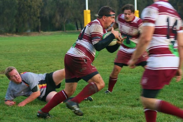 Cameron Smith carries into contact in his comeback match