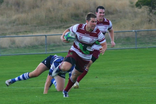 Cyron Prouse scores for Easts - Photo Credit Jess O'Malley