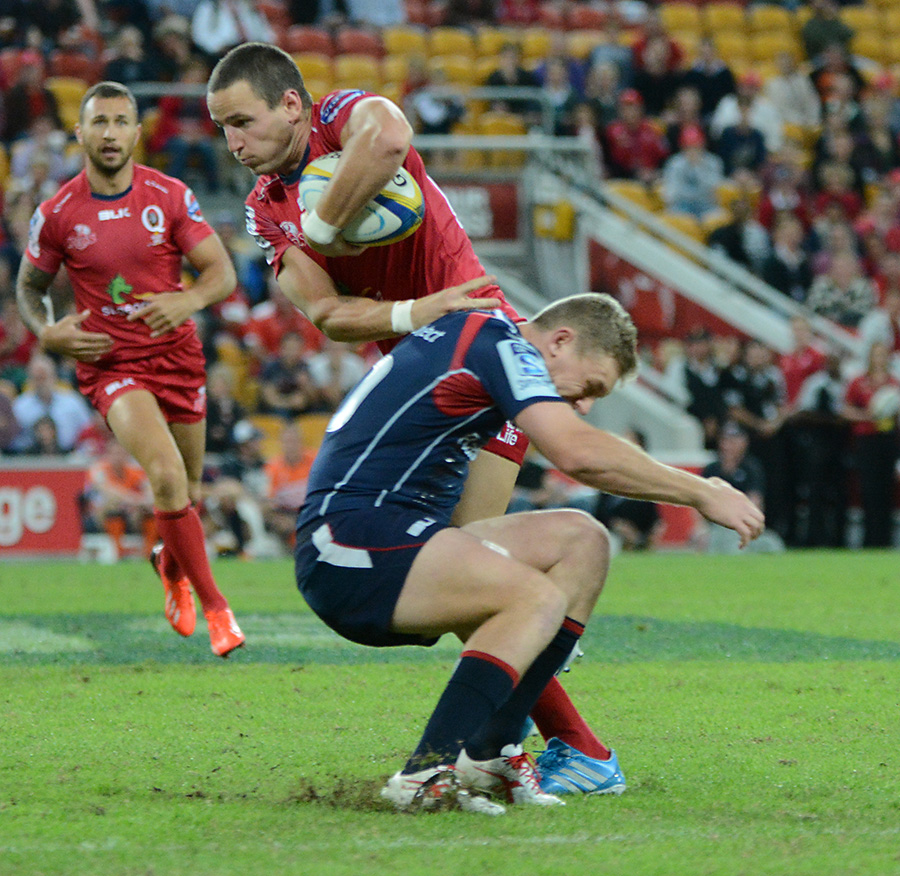 Green And Gold Rugby Gps 2018: Reds V Rebels Rebels Deliver The Final Nail