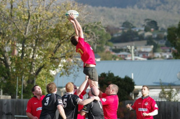Although University were wiling  Glenorchy Stags came out on top 48-22 winners