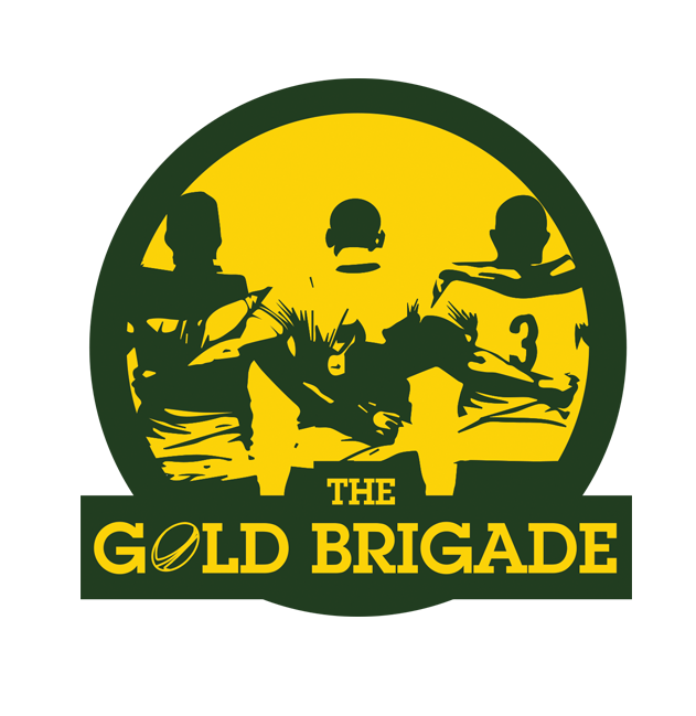 Show Your Support For The Wallabies The Gold Brigade Green And Gold Rugby