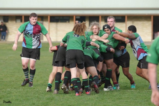 Devonport's pack dominated the mauls