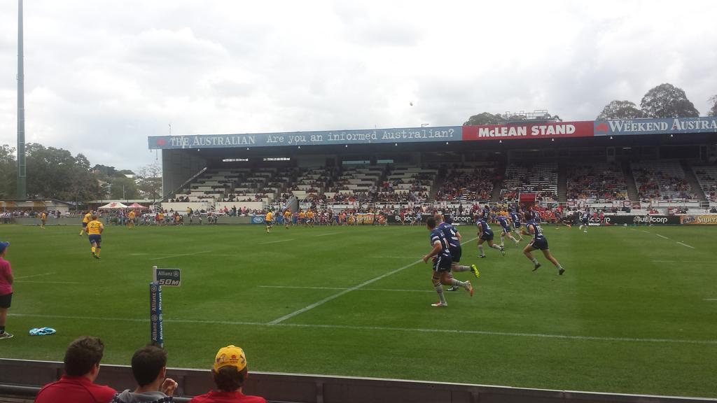 Brisbane City v Melbourne Rising NRC Rugby match