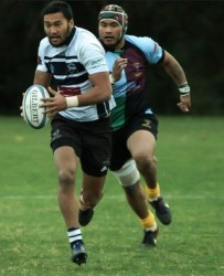Kamana playing for Moorabbin