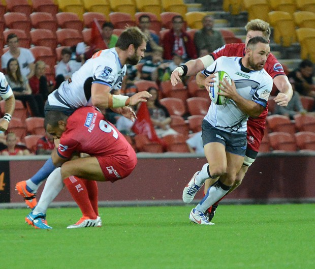 Ben McCalman and Alby Mathewson against the Reds