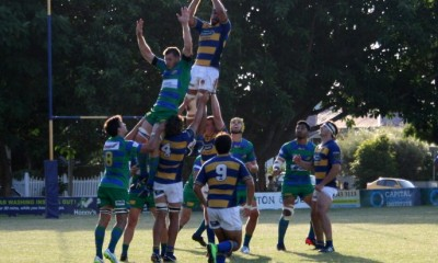 Easts win a lineout against GPS at Bottomley Park.