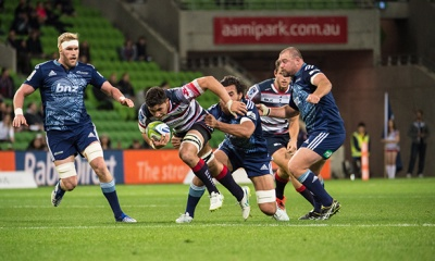 Rebels V Blues, AAMI Park 2015