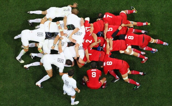 England v Georgia - IRB RWC 2011 Match 18