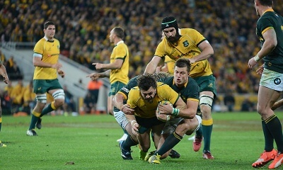 Adam Ashley-Cooper tackled