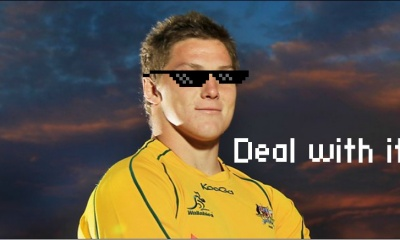 deal with it Michael hooper