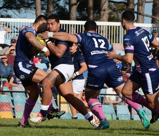 Chris Feauai-Sautia Queensland Country v Melbourne Rising NRC150823_0269