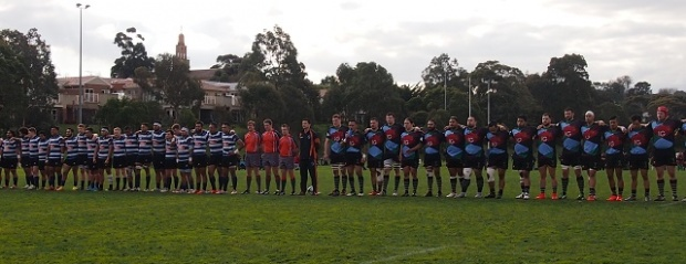 The teams before the game