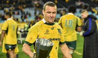 matt giteau and trc cup wallabies
