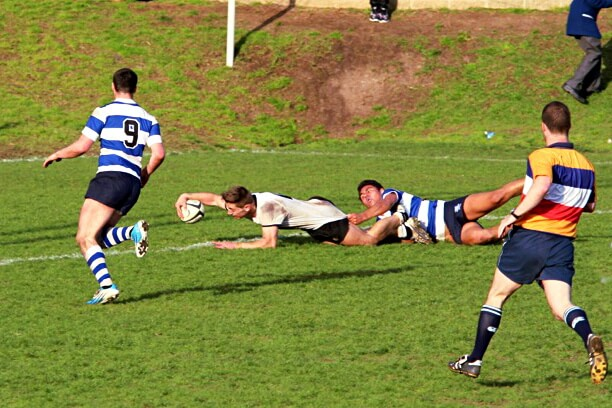 A brilliant try by Cameron Murray