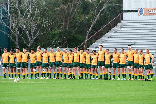 Aussies face the haka