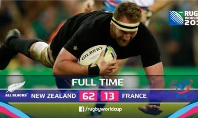 New Zealand V France Scoreline
