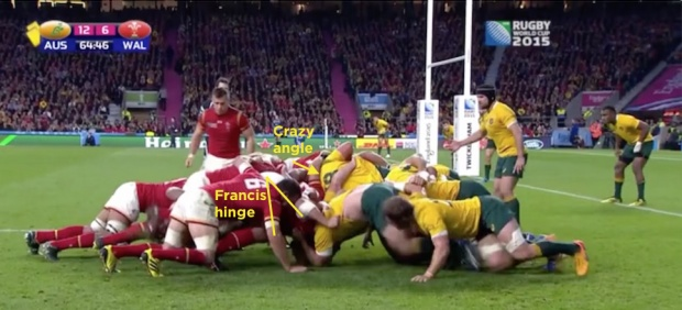 wallabies versus wales defence