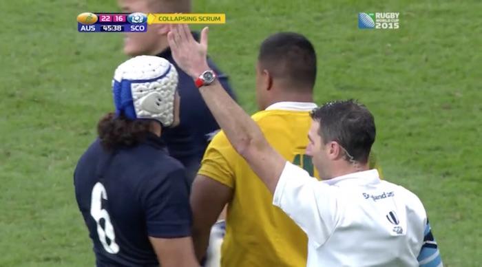 scott sio penalised by joubert