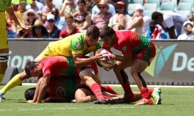 australia beat portugal at the sydney sevens